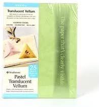 Stathmore Pastel Translucent Vellum 8.5