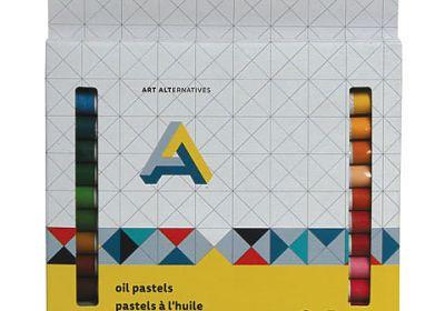 Art alternatives oil pastels 24pc