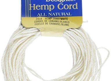 Darise Hemp Cord, White 20lb 8 yds