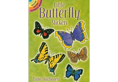 Dover Little Sticker Book Little Butterflies