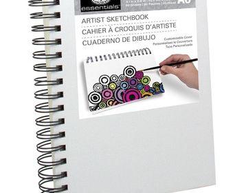 Essentials Artist Sketchbook A4