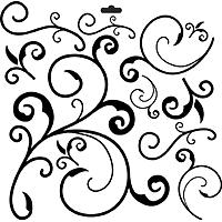 6x6 stencil capricious