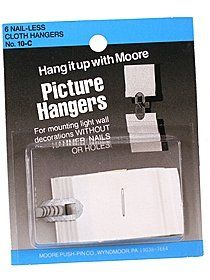 Moore Nail-less Picture Hangers