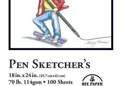 Pen Sketchers Paper 18