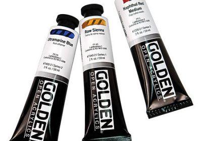 Golden open Cobalt Titanate Green 8oz