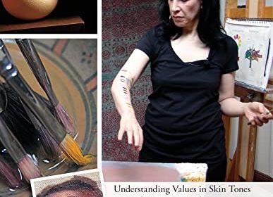 Understanding Values in Skin Tones & Painting Facial Features DVD