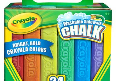 Crayola Washable Sidewalk Chalk 24