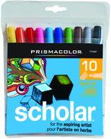 Prismacolor Scholar Marker bullet tip 10 set