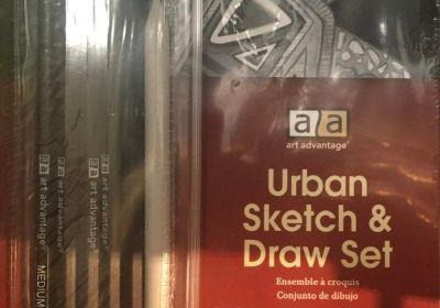 AA Urban Sketch & Draw Set