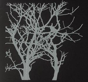 12 x 12 Branches Stencil