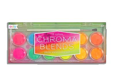 Chroma Neon Watercolor