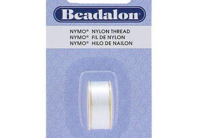 Beadalon Black Nylon.3mm Thread