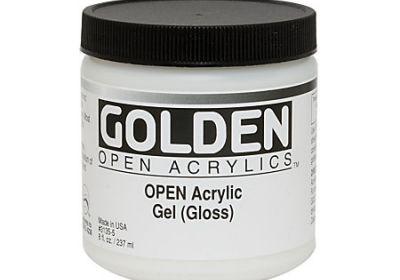 Golden Heavy Gel Matte 8oz
