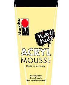 Marabu Mixed Media Acryl Mousse-Vanilla
