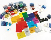 Water Soluble Block Print Ink white 2.5oz