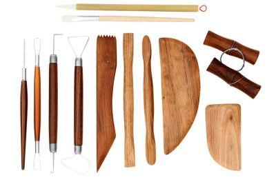 JR 12 pc pottery tools