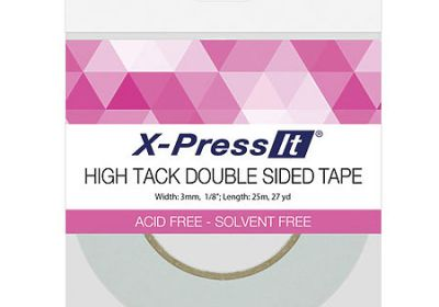 X-Press It High Tack Double Sided Tape 1/8