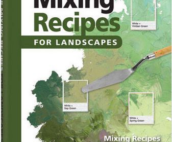 Color mixing recipes for landscapes
