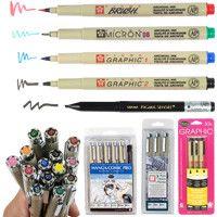 Micron Black Pigma Brush Pen