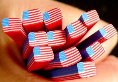Slice'n Bake American Flag