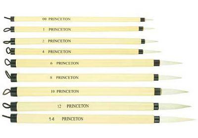 PR Bamboo brush 10