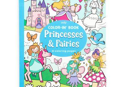 Color-in-Book: Princess & Fairies