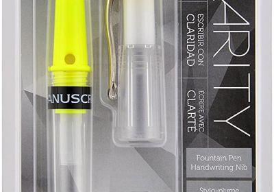 Green Manuscript Clarity fountain Pen