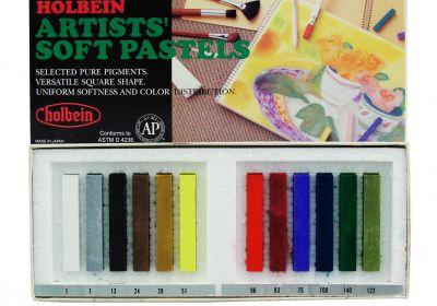Holbein Artists' Soft Pastels 12 Set