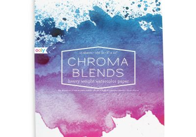 OOLY Chroma Belnds Watercolor Pad