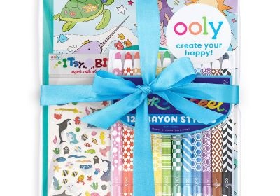 Ooly Outrageous Ocean Apeel Color Giftables Pack