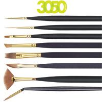 PR 3050 Mini Detail Short Handle Monogram 20/0