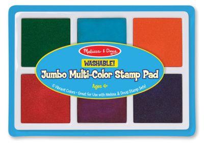 Melissa & Doug jumbo multi color stamp pad