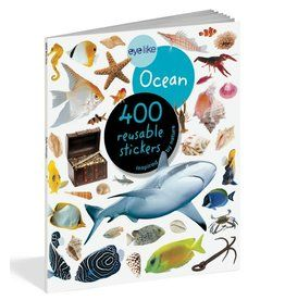 eyelike Ocean Reusable Sticker Book