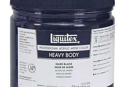 Liquitex heavy body jar 8oz burnt sienna