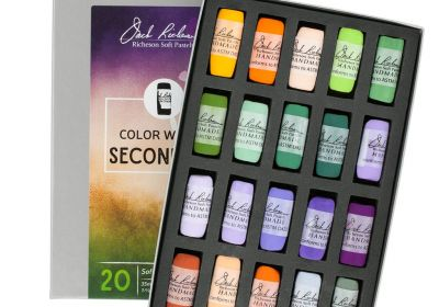 JR Hand rolled Pastel set 20 Secondary Colors