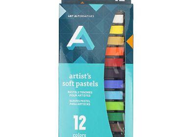 AA soft pastels 12 white