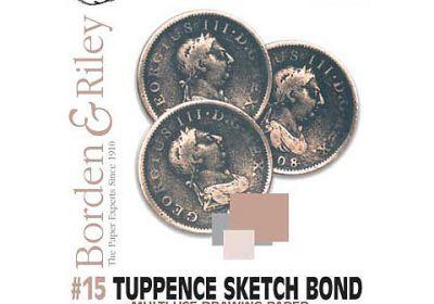 Tuppence Sketch Bond 6 x 12