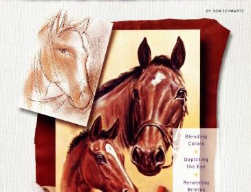 WF Horses Pastel