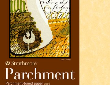 Strathmore White Parchment 8.5 x 11