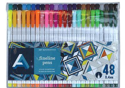 AA fineliner Pen Set48