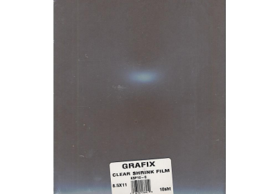 Grafix Clear Shrink Film 8.5x11 10 shts