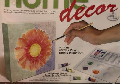 R&L Home Decor-Painted Daisy