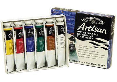 Winsor & Newton Artisan Water Mixable Oil Starter Set