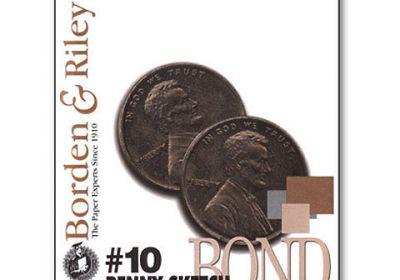Borden&Riley #10 penny sketch 12x18