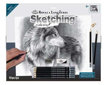 R&L Sketching made easy Cautious Eyes
