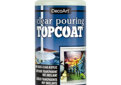 DecoArt pour topcoat 8oz