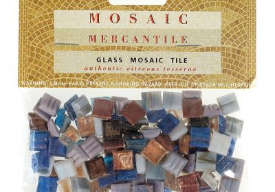 Mosaic Mercantile classic glass tiles Amethyst  24 count