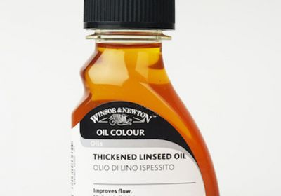 Winsor & Newton Thickened Linseed Oil 2.5oz
