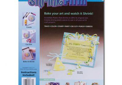 Shrink Film 8.5X11 Matte 6 Pack
