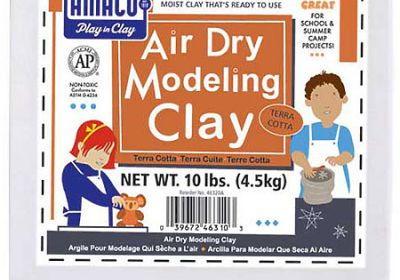 25lb clay white